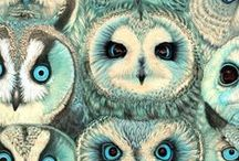 Owls, in honour of a friend / by Katherine Mereand-Sinha