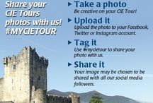 #mycietour / Take a photo while you are on a CIE Tour. Upload it to your own Instagram.  Tag it with the hashtag #mycietour. We will choose photos regularly to share with our CIE Tours followers on social media.  / by CIE Tours International
