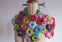 Crochet Flower Scarf / by Jolene Hausman
