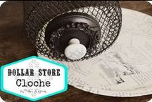 Dollar Store Crafts / I love a good dollar store craft!