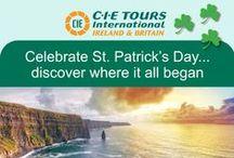 St Patrick's Day / Celebrate St. Patrick's day with CIE Tours.