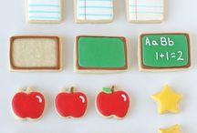 Cookie Inspiration ~ School