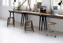 Home Office Design + Studio Ideas / by Anne Sage
