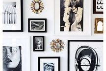 Artwork and Gallery Walls / Shelves, gallery walls, and styling ideas.