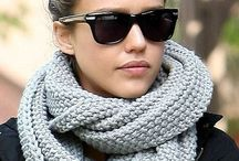 Looking at Scarves / Women and Men