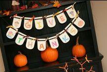 Preschool Theme: Thanksgiving