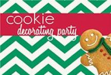 Cookie Decorating Party / Domino® Sugar has everything you need to host a merry little Holiday Cookie Decorating Party with your friends. / by Domino Sugar
