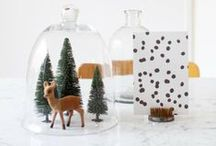 Thanksgiving + Christmas / Celebrate the holiday season in style. / by Anne Sage