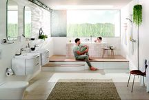 Healthy living, natural design / Embrace natural materials in your home for a scheme that feels healthy and promotes relaxation. GROHE Eurostyle's bathroom collection harnesses the softness of the natural world