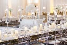Indoor Receptions / Over 35,000sq feet of meeting space to make your wedding dreams a reality.