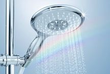 GROHE Dreamspray® / Harness the refreshing power of flowing water. Dreamspray advanced technology by GROHE in the shower head delivers a precise flow to each nozzle. Whatever spray pattern you choose, whether soothing or invigorating, just press the button and enjoy.