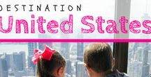 United States / Home sweet home for use here at AftT. We know a thing or two about the US, so enjoy this collection of awesome things to do! | #familytravel #unitedstates