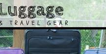 Luggage and Gear / We've rounded up our favorite gear that we think makes #familytravel easier. Check it out! | #luggage #suitcase