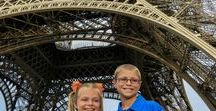 Paris with Kids / The City of Light is an amazing place to take your kids and explore. From the Eiffel Tower, wonderful gardens, museums, and epic food - here's the place for all things Paris with Kids!