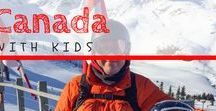 Canada / Canada is an embarrassment of riches. With stunning natural beauty, Canada an easy place to enjoy a great family adventure. Come Along for the Trip! | #familytravel #Canada