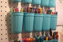 Neat Ideas / Organization / by Stephanie Bassham