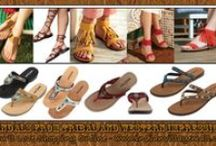 Lady's Tribal Sandals From Tribal Impressions / Huge collection of designer Tribal Sandals to die for! For Of Tribal & Western Impressions 108 W 8th St, Georgetown, TX 78626 Located On Historic Georgetown Courthouse Square Just North Of Austin, Texas - Where the old west and Western and Indian style lives on!  Email: RThomas007@mac.com Phone: 512-864-2081  / by Tribal Impressions