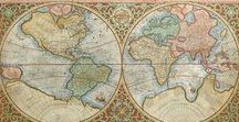 Maps / A few of the cartographic gems from the late 15th century to the 19th century available at The Antiquarium.