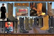 Western Cowboy Boots From Tribal And Western Impressions / Cowboy Boots From Tribal And Western Impressions Authorized Online Retailer For Cushion Comfort Dan Post Boots, Cowboy Certified Boots, Dingo Boots & Laredo Boots!  Review the collection off of: http://www.indianvillagemall.com/mensboots.html / by Tribal And Western Impressions