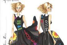 Croquis / Fashion illustrations / by Angela Johnson