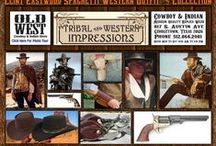 Spaghetti Western Collection / Clint Eastwood Spaghetti Western Collection! Watch Client Eastwood movies on demand. Obtain Client Eastwood DVDs and books about him! Spaghetti Western Poncho, gun, boots, spurs, hat and wrist guard collection. http://www.indianvillagemall.com/spaghettiwestern.html / by Tribal And Western Impressions
