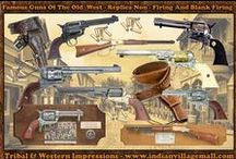 Old West Gun Replica Collection / Review the Old West Gun Movie And TV Replica Reproductions- off of- http://www.indianvillagemall.com/gunandmovieprops.html / by Tribal And Western Impressions