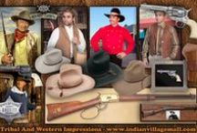 John Wayne Collection / Museum Quality Replica Wear-movie props- John Wayne gun replicas- movie set badge replicas- wall mount displays and more from Tribal And Western Impressions- http://www.indianvillagemall.com/johnwaynecollection.html / by Tribal And Western Impressions