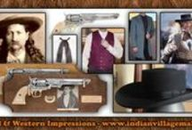Wild Bill Hickok Collection / The Wild Bill Hickok Collection From Tribal And Western Impressions - Review the collection off of: http://www.indianvillagemall.com/hats/wildbillhickockoutfit.html / by Tribal And Western Impressions
