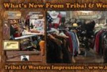 What's New! / What's New from Tribal And Western Impressions - Review off of: http://www.indianvillagemall.com/new.html / by Tribal And Western Impressions