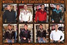 Gunfighter Old West And Western Shirts / Gunfighter Old West And Western Shirts from Tribal And Western Impressions -Scully Legends Western Embroidered Gun Fighter  Shirt Collection From Tribal And Western Impressions-  Review off of: http://www.indianvillagemall.com/wshirts/gunfightershirts.html / by Tribal And Western Impressions