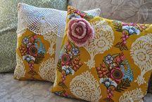 Pillows / Pillow cover inspiration.
