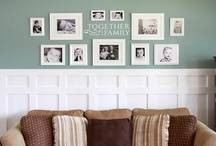 DIY: Wainscoting / by Christina@TheFrugalHomemaker.com