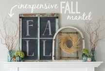 Holidays: Fall Decor / by Christina@TheFrugalHomemaker.com