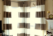 DIY: Curtains / by Christina@TheFrugalHomemaker.com