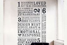 Design & Typography / Graphic design and topography / by Sue-Anne Robinson-Silkes