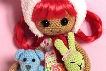 crochet doll  & doll clothes / by Andrea deDufour
