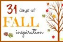 31 Days of Fall Inspiration / Need some fall inspiration?  Oh, boy do I have some for you!  From fall wreaths, fall mantels, fall decor, fall food I have it all. Decorate for fall using acorns, corn, pumpkins, pinecones, candles, banners, burlap, and candy corn.  You can fall in love with your home this fall and be inspired to being fall into your home. / by Christina@TheFrugalHomemaker.com