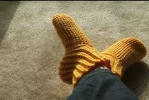 Feet & Legs (free crochet patterns) / The Best Free Socks, Slipper, Sandals, & accessory Crochet Patterns