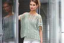 Tops (free crochet patterns) / The best of Free Sweater, Tanks, Jackets, Cardigans, Vests, and All Top Crochet Patterns!