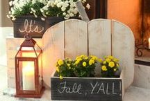 Frugal Homemaker Fall / I love decorating for fall and sharing how to frugally decorate your home for all seasons.  On this board you will find lots of fall decorating ideas and fall wreaths, fall mantels, fall displays, fall porches, adding fall decor to your home, decorating with pumpkins, fall vignettes, using vintage and yard sale finds to decorate for fall, DIY fall decor, fall wreaths on your front door and so much more! / by Christina@TheFrugalHomemaker.com