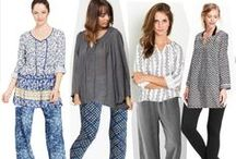 Wardrobe update for LS / Boho looks featuring soft pants / by Leila Mack Style