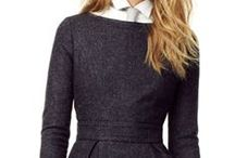 Wear to work half-sleeve&long sleeve dresses / Half-Sleeve dresses for a minimal chic look at work + confortable. Make the best of your work outfit with the sleeve dresses.