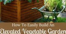 Small Space Gardening Ideas / Small space garden ideas, DIY and guides. Everything from square foot gardening to vertical gardening to raised vegetable gardening. Vegetable garden design. Beginner vegetable gardening tips.
