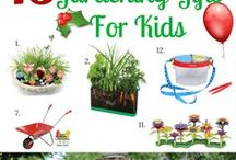 Fun Gardening Crafts And Activities with Kids / Fun and teachable garden activities for kids that will teach them about gardening, the outdoors and nature.
