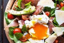 FOOD : manger Healthy / Healthy Food un tableau qui regroupe des recettes légères et colorées pour prendre soin de soi.