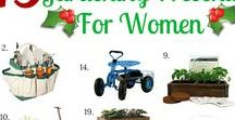 Gardening Gifts / Gardening is a fave hobby for many men and women out there. Why not get mom, dad or grandma a gift that they will love and which can be super useful or a fun DIY for them? #giftidea