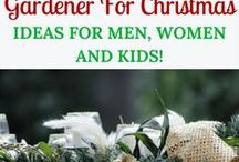 Christmas for Outdoor and Nature Lovers / Christmas is a celebration for many things! Celebrating Jesus birth, & loving family and friends. Christmas gifts, outdoor and garden decor, DIY crafts that focus on nature all covered here.