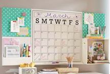 Get Organized / Organization tips and inspiration! It's time to get my life organized once and for all.