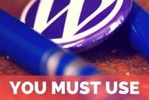 WORDPRESS & webdesign + blog / I´m a WordPressista. If you are too, then this is a board to follow! :)