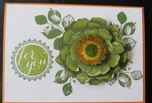 MIXED CARD IDEAS / Mainly Stampin' Up cards